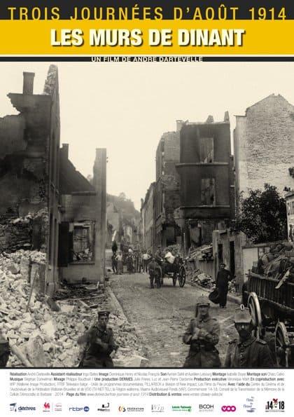 TROIS JOURNEES D'AOUT 1914 – LES MURS DE DINANT