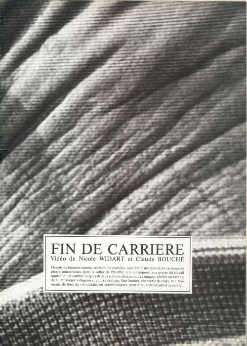 FIN DE CARRIERE
